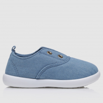Dual Tone Slip-On Shoes