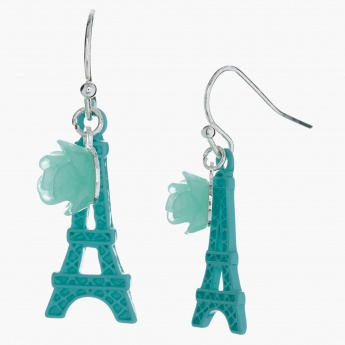 Dangling Earrings with Fish Hook Closure