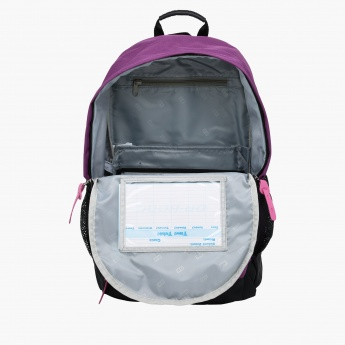 Dual Strap Backpack with Dual Compartments