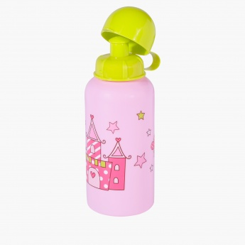 Printed Lunch Box and Water Bottle Set