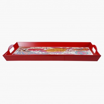 Printed Serving Tray - 40x25 cms