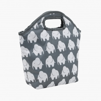 Printed Lunch Bag - 31x11x31 cms