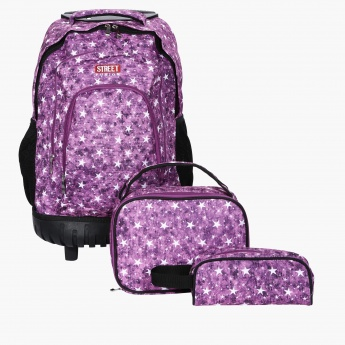 Star Printed 3-Piece Bag Set