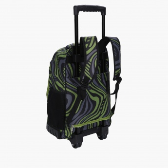 Printed Trolley Backpack, Lunch Bag and Pencil Case Set