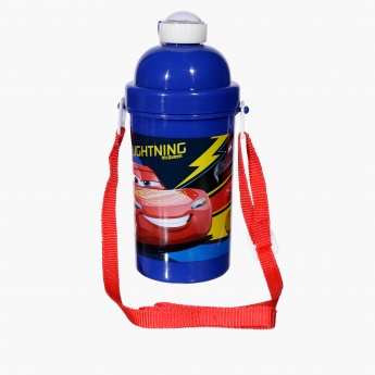 Cars Printed Water Bottle