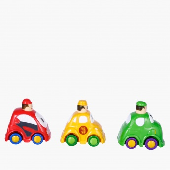 Press and Go Vehicles Toy Set