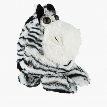 Plush Zebra Toy