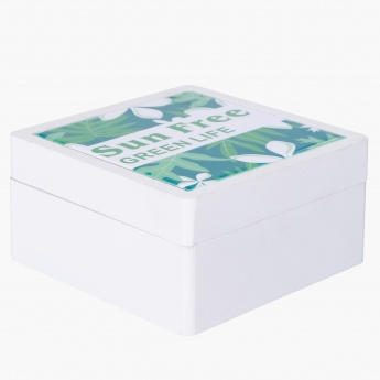 Printed Decorative Box – 12x12x6.5 cms