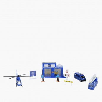 Die-Cast Police Playset