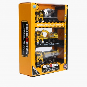 Builders Die Cast Construction Play Set