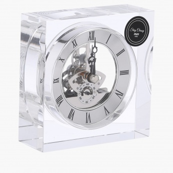 Decorative Table Clock 11x11 cms