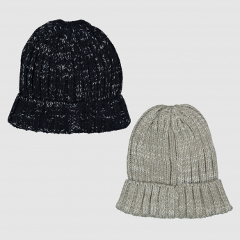 d24e327ede0 Textured Beanie Cap - Set of 2 | Caps & Hats | Accessories | Men ...