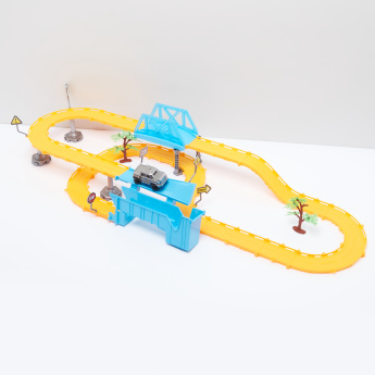Self-Assemble Railcar Playset