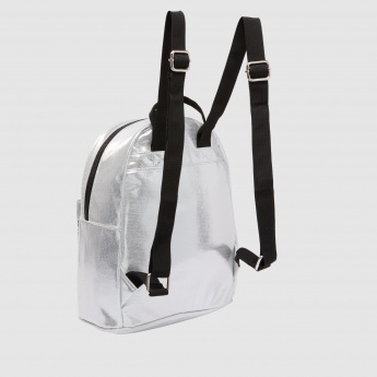 Dual Zippered Backpack