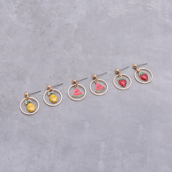Assorted Earrings - Set of 3