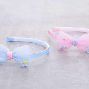Bow Hairband - Set of 2