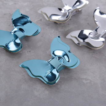 Bow Hair Clip - Set of 4