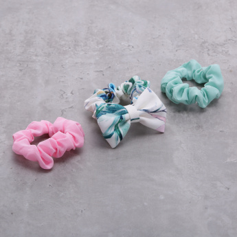Elasticised Scrunchy - Set of 3