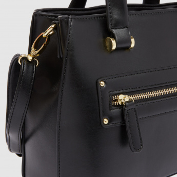 Handbag with Zip Closure