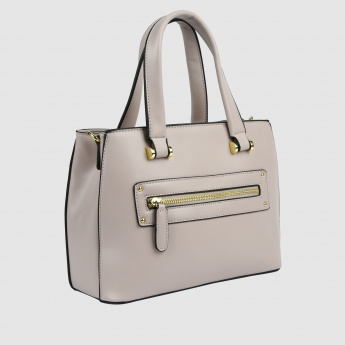 Metallic Detail Handbag