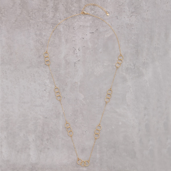 Long Textured Necklace