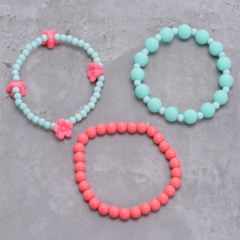 Assorted Bead Bracelet - Set of 3