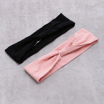 Elasticised Hairband - Set of 2