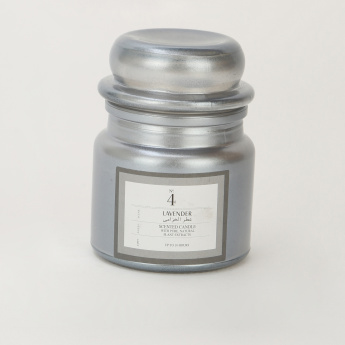 Lavender Jar Candle with Lid