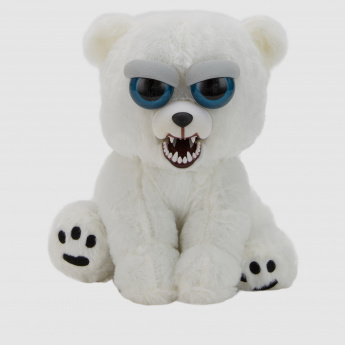 Plush Feisty Pet Polar Bear Toy