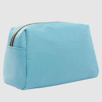 Pouch with Zip Closure