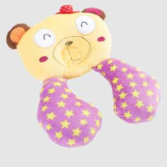 Printed Plush Baby Neck Pillow