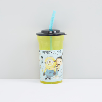 Minions Printed Sipper Water Bottle