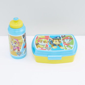 PAW Patrol Printed Tiffin Box with Water Bottle Set