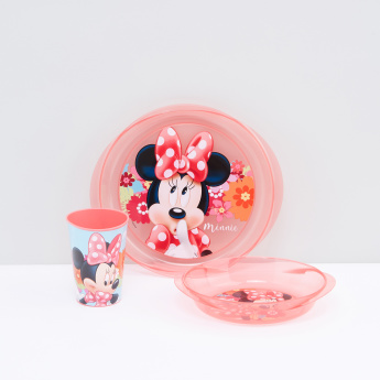 Minnie Mouse Printed 3-Piece Meal Set