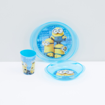 Minions Printed 3-Piece Meal Set