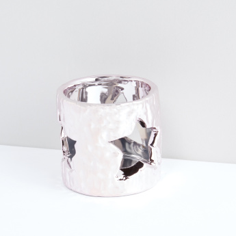 Textured Decorative Votive Candle Holder