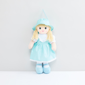 Rag Doll with Printed Dress
