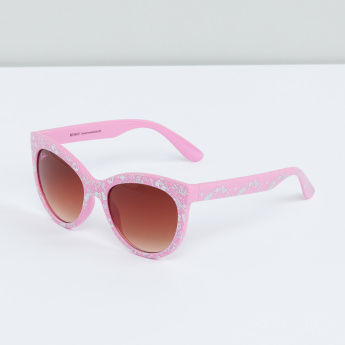 Printed Sunglasses with Full Rim
