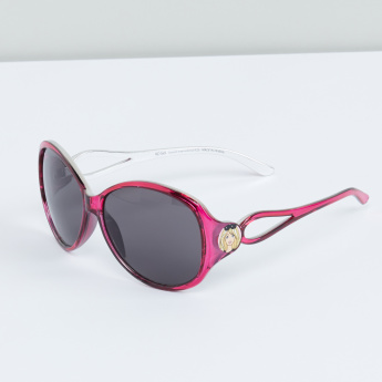Barbie Printed Oversized Sunglasses with Full Rim