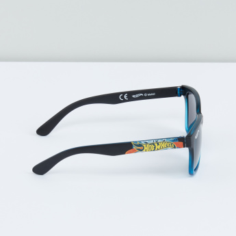 Hot Wheels Printed Sunglasses with Full Rim