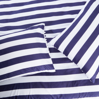 Striped 3-Piece Duvet Cover Set