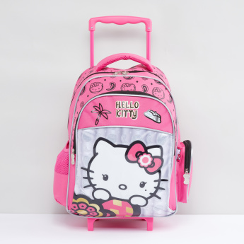 Hello Kitty Printed Backpack with Zip Closure  62235b8f804c0