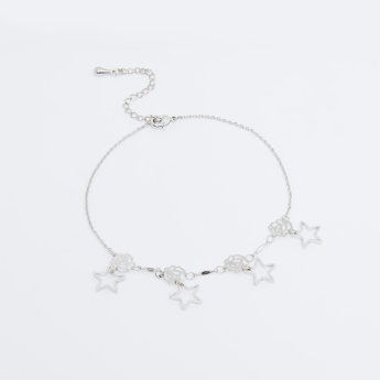 Star Charm Accent with Lobster Clasp