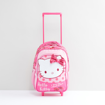 d17f8c75c3 Hello Kitty Printed Trolley Backpack with Retractable Handle ...