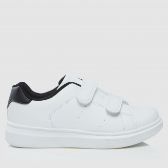 Hook and Loop Strap Sneakers
