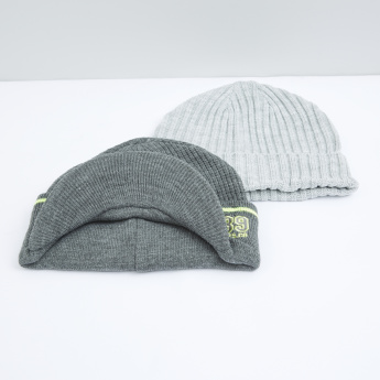 fd16db2a2a7 Textured Cap - Set of 2 | Caps & Hats | Accessories | Men | Online ...