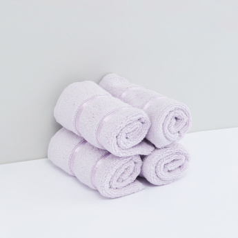 Textured Face Towel - Set of 4