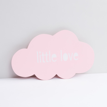 Printed Cloud Wall Decor