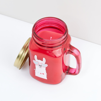 Printed Jar Candle