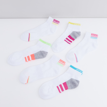 Printed Ankle Length Socks - Set of 6